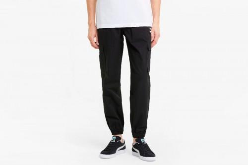 pantalones Puma Classics Cotton Twill Jogger negros