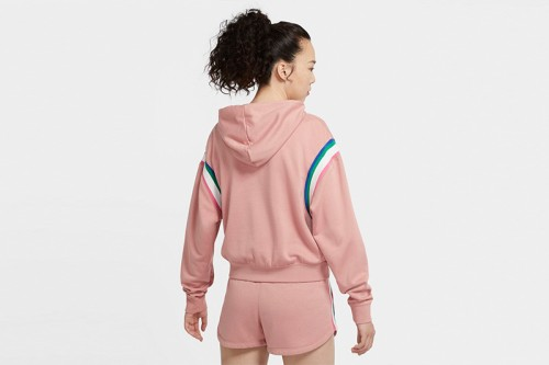 Sudadera Nike Sportswear Heritage rosa