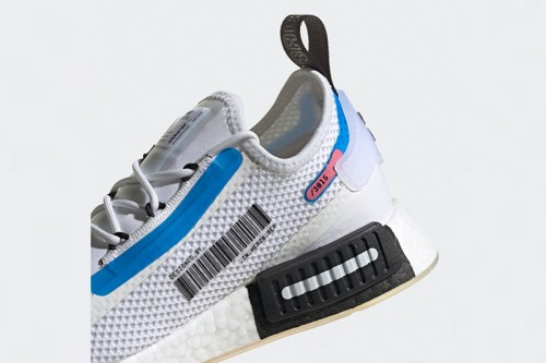 Zapatillas adidas NMD_R1 SPECTOO W Blancas