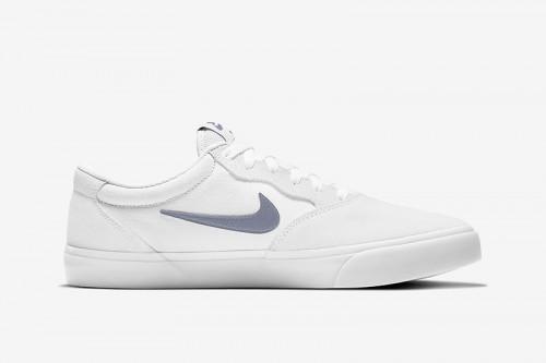 Zapatillas Nike SB Chron Solarsoft Blancas