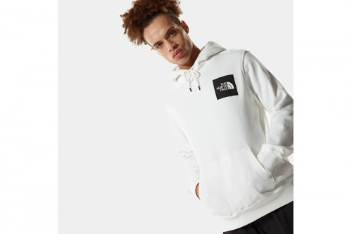 Sudadera The North Face M FINE HOODIE blanca