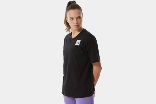 Camiseta The North Face W BF FINE TEE negra