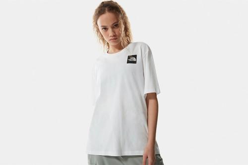 Camiseta The North Face W BF FINE TEE blanca