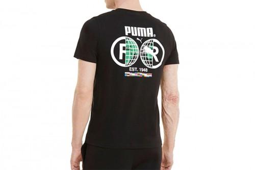 Camiseta Puma INTL Tee negra