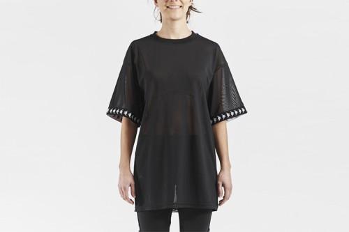 Camiseta Kappa Edy negra