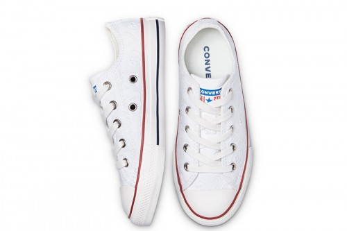 Zapatillas Converse Love Ceremony Chuck Taylor All Star Low Top Blancas