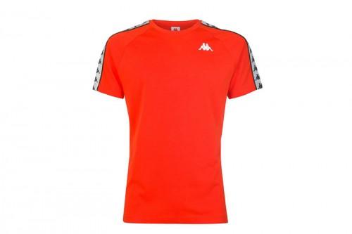 Camiseta Kappa Coen slim roja