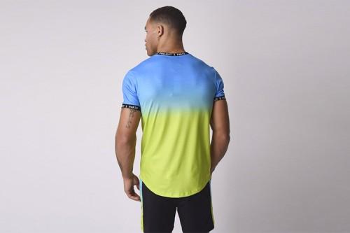 Camiseta Project X Paris dégradé sublimation Multicolor