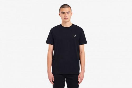 Camiseta Fred Perry Ringer negra