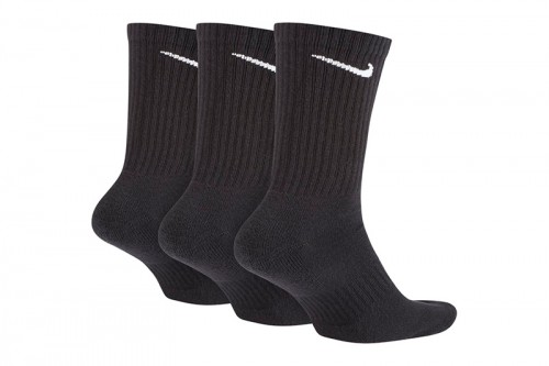 Calcetines Nike Everyday Cushioned negros