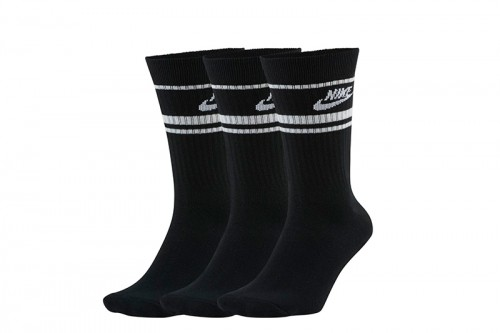 Calcetines Nike Sportswear Essential negros