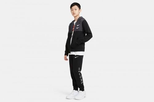 pantalon Nike Sportswear Swoosh negro