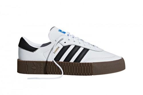 Zapatillas adidas SAMBAROSE W Blancas