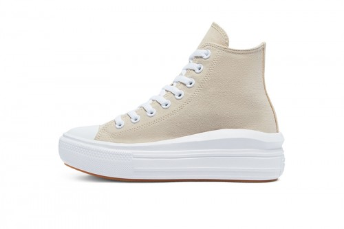 Zapatillas Converse CTAS MOVE HI Beiges