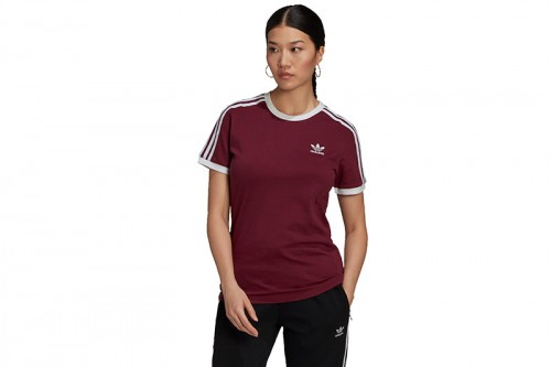 Camiseta adidas ADICOLOR CLASSICS granate