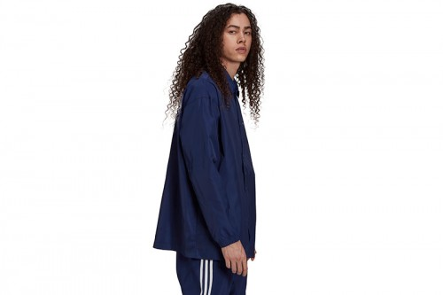 Chaqueta adidas ADICOLOR CLASSICS TREFOIL COACH azul