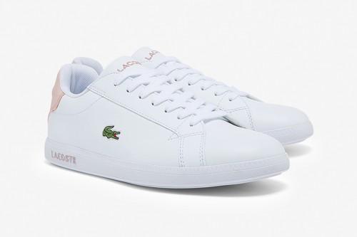 Zapatillas Lacoste Graduate BL Blancas