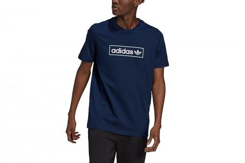 Camiseta adidas LINEAR LOGO azul