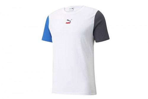 Camiseta Puma CLSX blanca