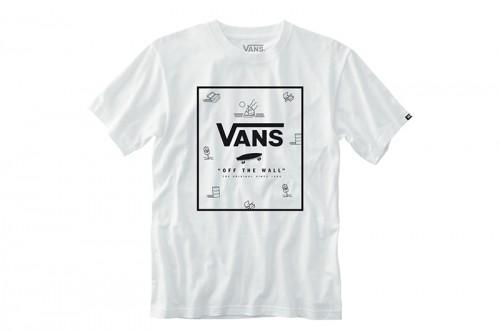 Camiseta Vans CLASSIC PRINT BOX Blanca
