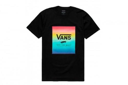 Camiseta Vans CLASSIC PRINT BOX Negra