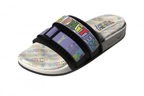 Chanclas adidas ADILETTE SANDAL 2.0 PRIDE SLIDES Blancas