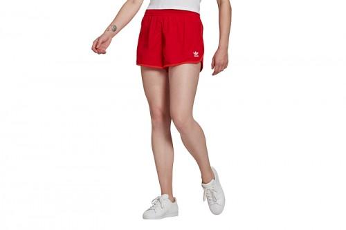 pantalones cortos adidas ADICOLOR CLASSICS 3 BANDAS rojos