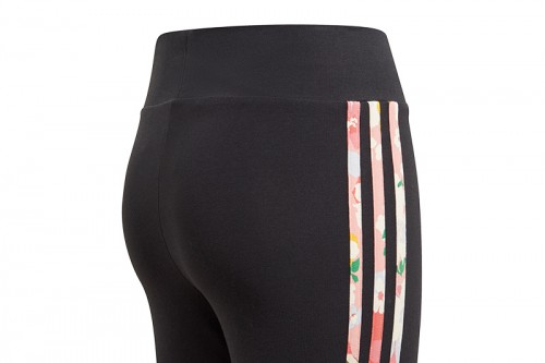 Mallas adidas HER STUDIO LONDON FLORAL HIGH-WAISTED negros