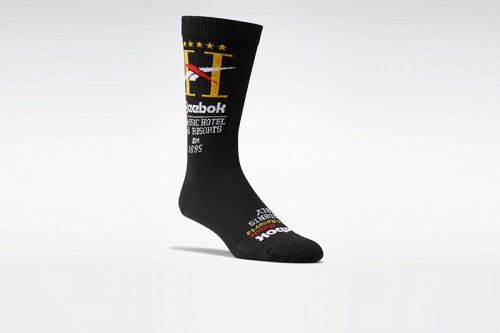 Calcetines Reebok CL Hotel Sock negros