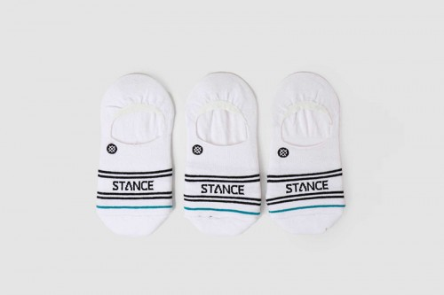 Calcetines Stance BASIC 3 PACK NO SHOW blancos