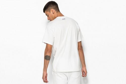 Camiseta Fila UNISEX CLASSIC PURE ss tee Blancas