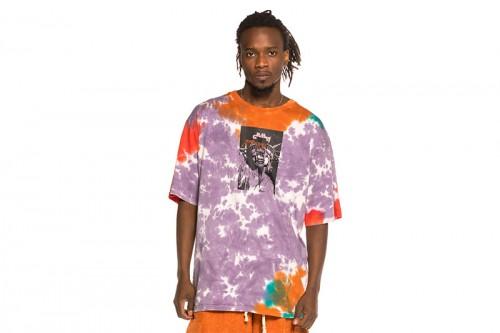 Camiseta GRIMEY LIVEUTION MAGIC 4 RESISTANCE Multicolor