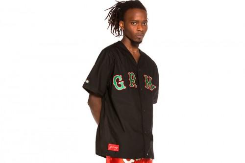 Camiseta GRIMEY THE LOOT BASEBALL negra