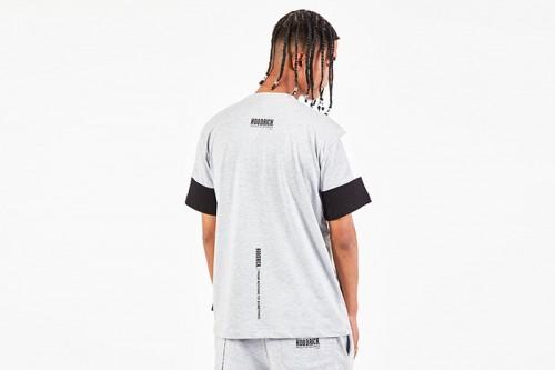 Camiseta Hoodrich OG PANEL V2 TSIRTH gris