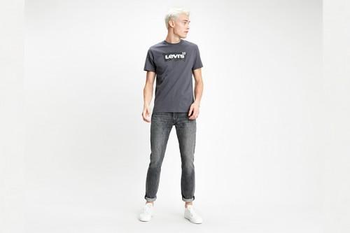Camiseta Levi´s Housemark Graphic gris
