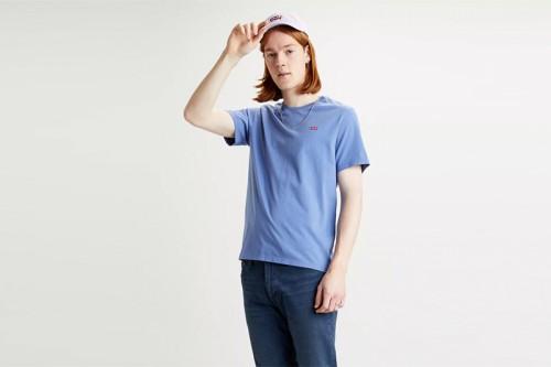 Camiseta Levi´s ORIGINAL HOUSEMARKED TEE azul