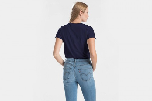 Camiseta Levi´s THE PERFECT TEE azul