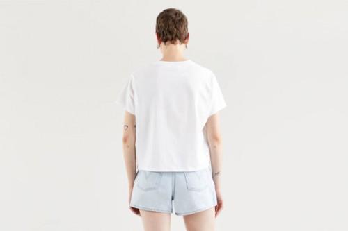 Camiseta Levi´s VARSITY GRAPHIC TEE Blancas