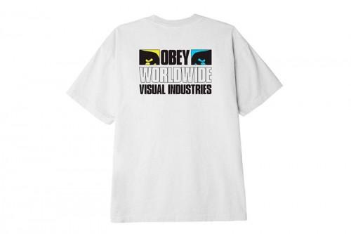 Camiseta Obey OBEY SEEN NOT HEARD Blancas