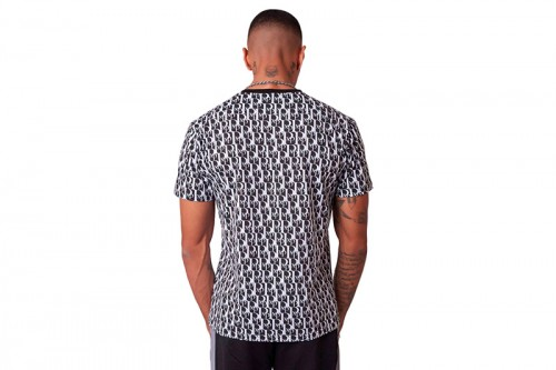Camiseta Project X Paris PXP T-SHIRT BLK/WHT Negras