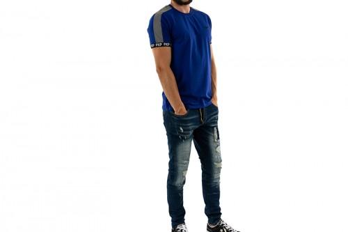 Camiseta Project X Paris PXP T-SHIRT BLUE/SLV azul