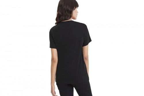 Camiseta Puma Classics Logo Tee Puma Black-RIDER negra