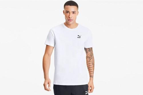 Camiseta Puma Graphic Tee TFS Puma White-puma black blanca