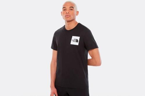 Camiseta The North Face FINE TEE negra