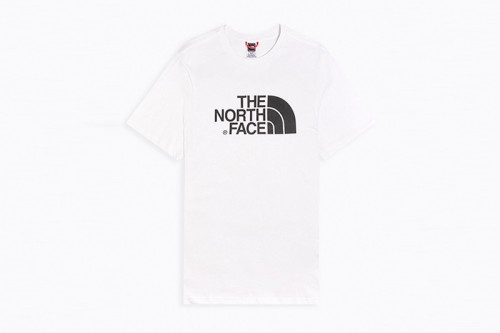 Camiseta The North Face M S/S EASY TEE - EU blanca