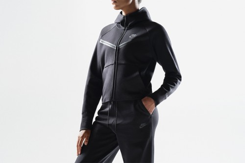 Chaqueta Nike Sportswear Tech Fleece Windrunner negra