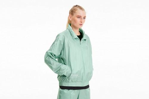Chaqueta Puma Evide Jacket Mist Green verde