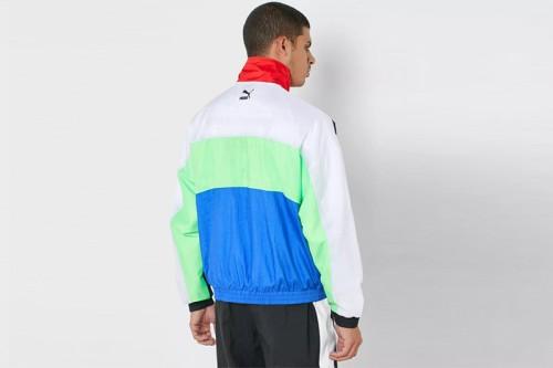Chaqueta Puma TFS OG Track Jacket Dazzling Blue verde