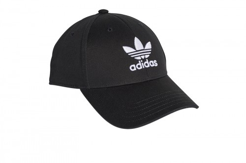 Gorra adidas BASEB CLASSic TREfoil negra