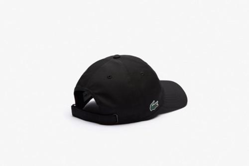 Gorra Lacoste Con Logo Negra